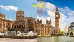 Mudanzas de Valencia a Londres