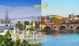 Mudanzas de Málaga a Toulouse