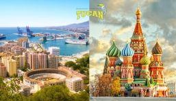 Mudanzas de Málaga a Moscú